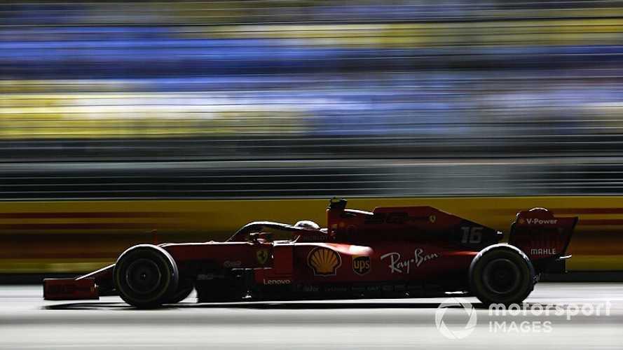 2019 Singapur GP: Ferrari bir ve üçüncü sıradan başlıyor.