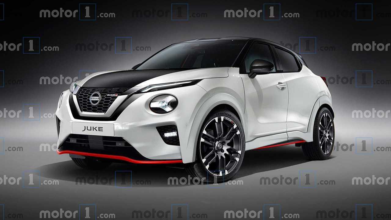 Nissan Juke Nismo Rendering