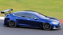 Tesla Model S Nurburgring Spy Photos