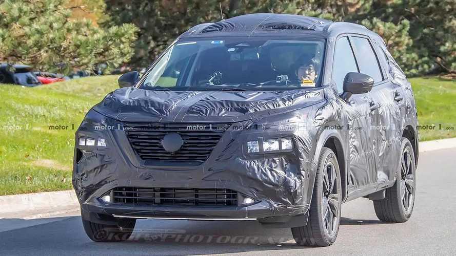 Новый Nissan X-Trail/Rogue – шпионские фото