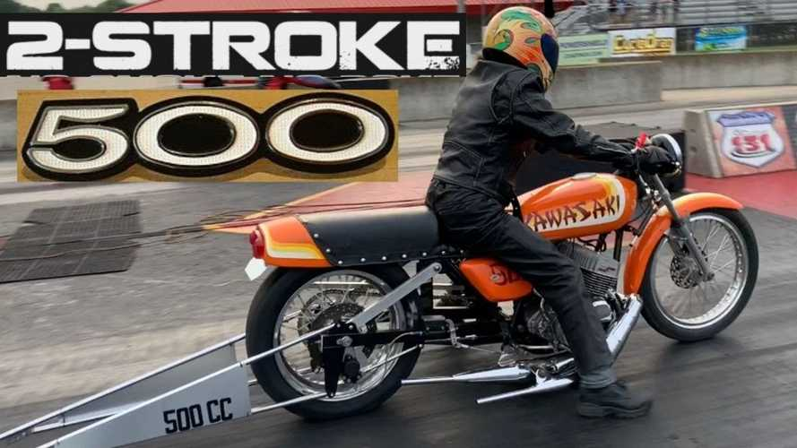 This Kawasaki Two-Stroke Is Still Kicking
