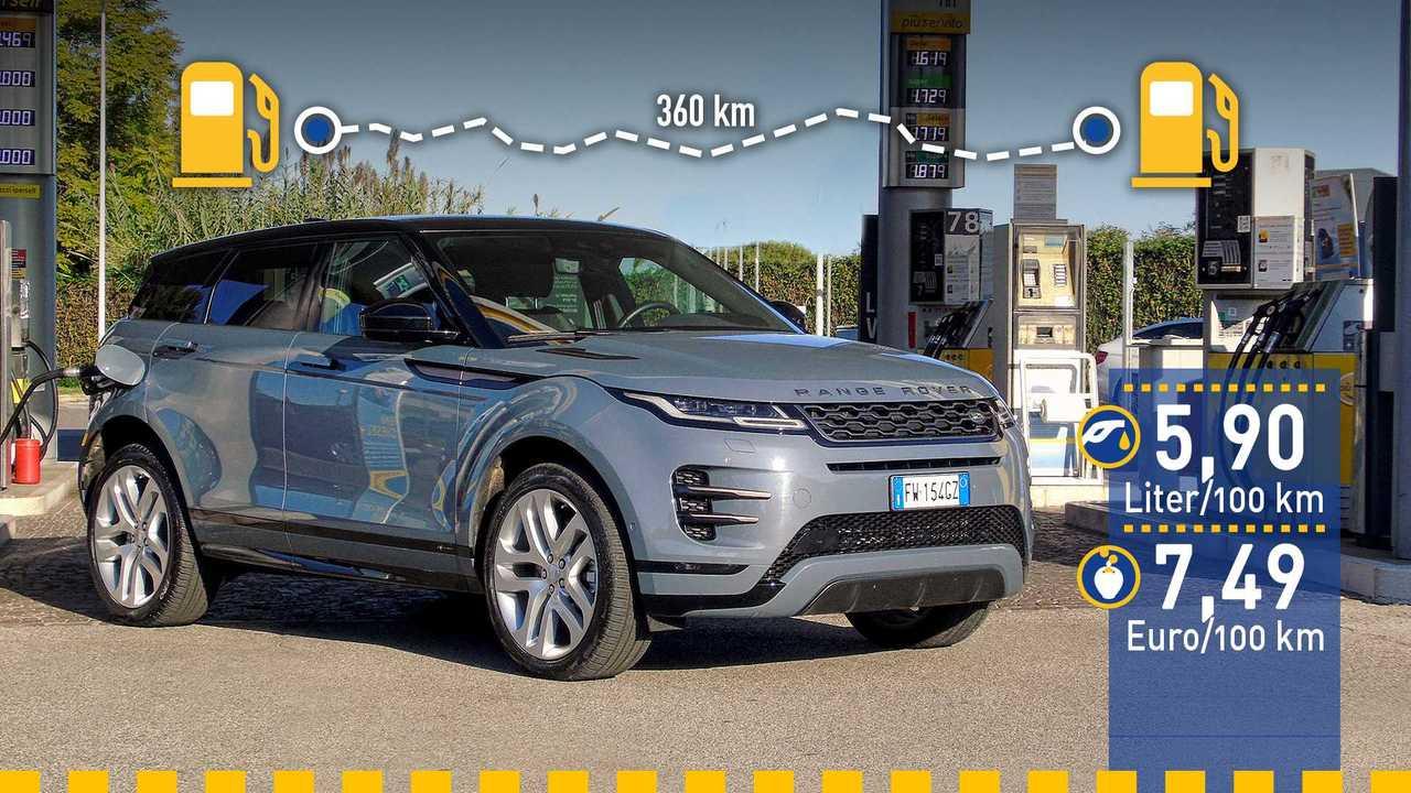 Range Rover Evoque im Verbrauchstest (2019)