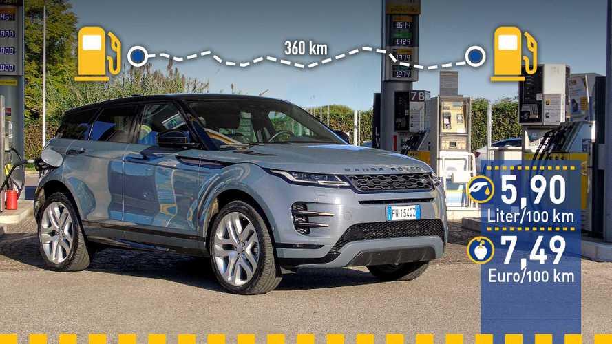 Tatsächlicher Verbrauch: Range Rover Evoque D180 AWD im Test