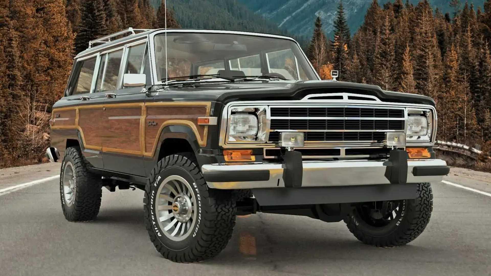 Vigilante Jeep Grand Wagoneer: un clásico americano puesto al día