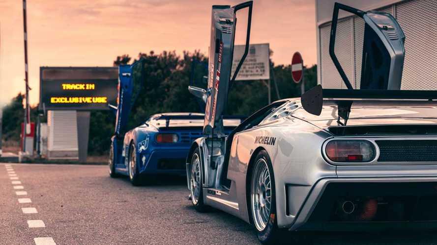 Bugatti Centodieci testing on the Nardo track