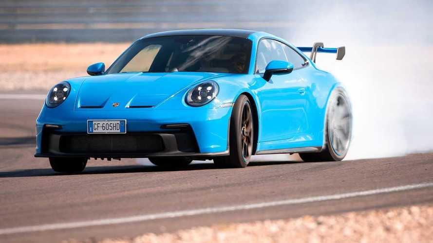 Porsche 911 GT3 (992) - Alfa Romeo Giulia GTAm, photos of the road and track test