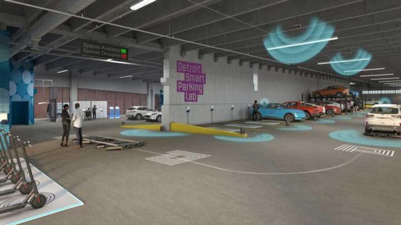 Il Detroit smart parking lab