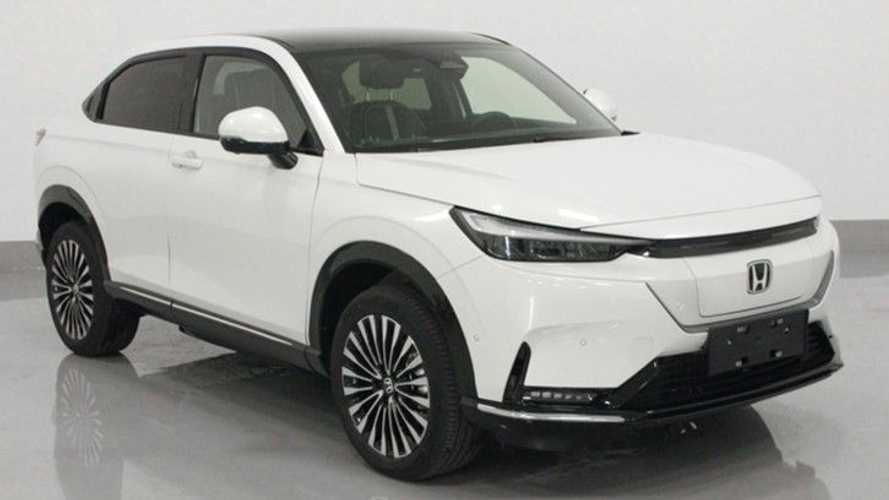 2022 Honda HR-V Electric Version Makes Early Debut In China