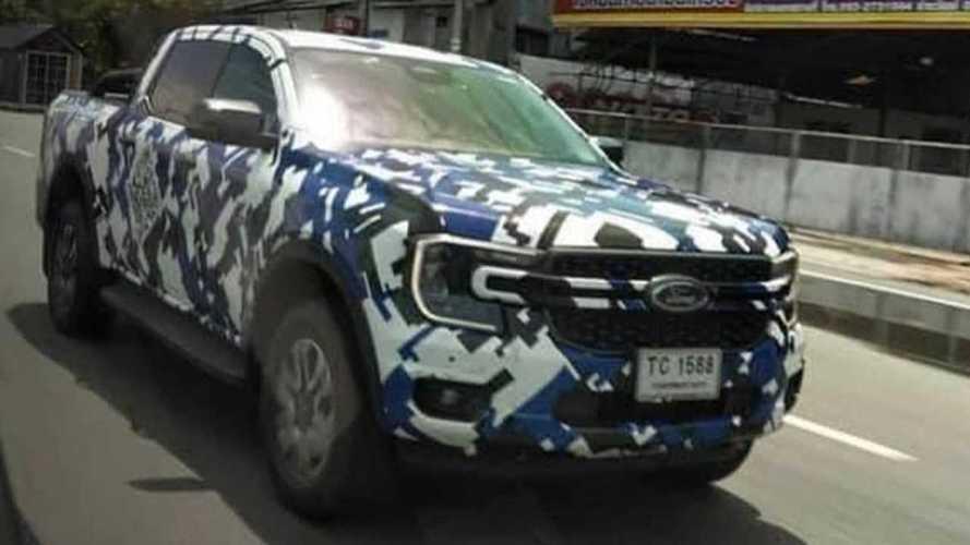 Flagra: Nova Ford Ranger 2023 mostra design inspirado na F-150