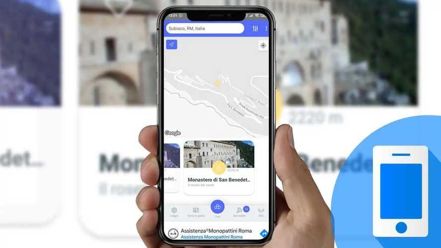 Viaggi in auto: come funziona l'app per cercare idee nei paraggi