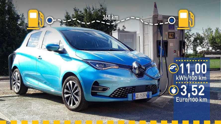 Tatsächlicher Verbrauch: Renault Zoe (2021) im Test