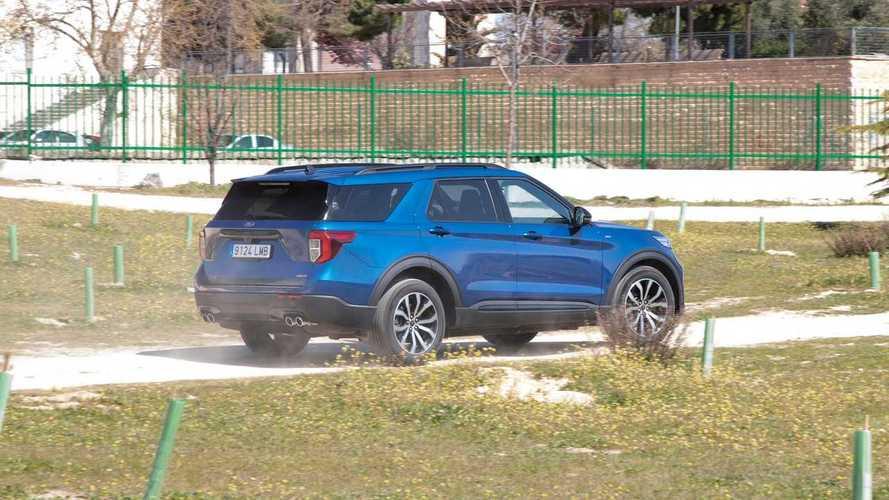 Prueba Ford Explorer PHEV AWD ST-Line