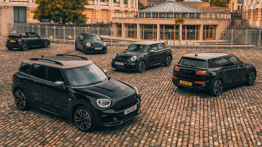 Mini Shadow Edition Models Arrive To Create A Stealthy, Little Car