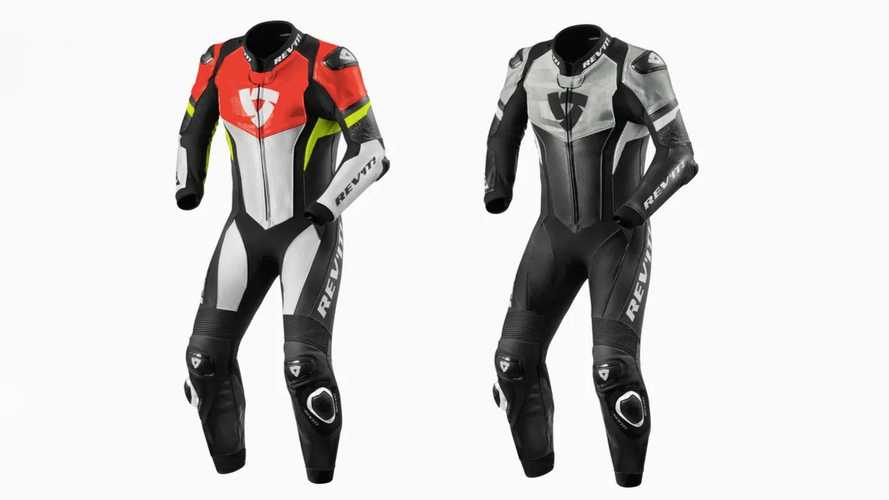 Hit The Track In Style With The REV'IT! Hyperspeed One-Piece Suit