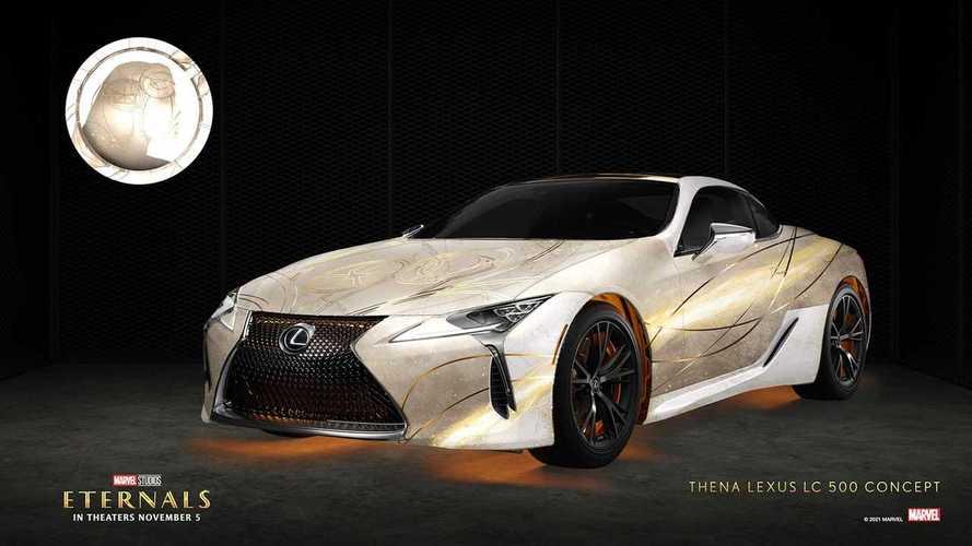 Lexus 'Eternals' Design Wraps