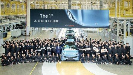 Zeekr 001: Produktionsstart in China