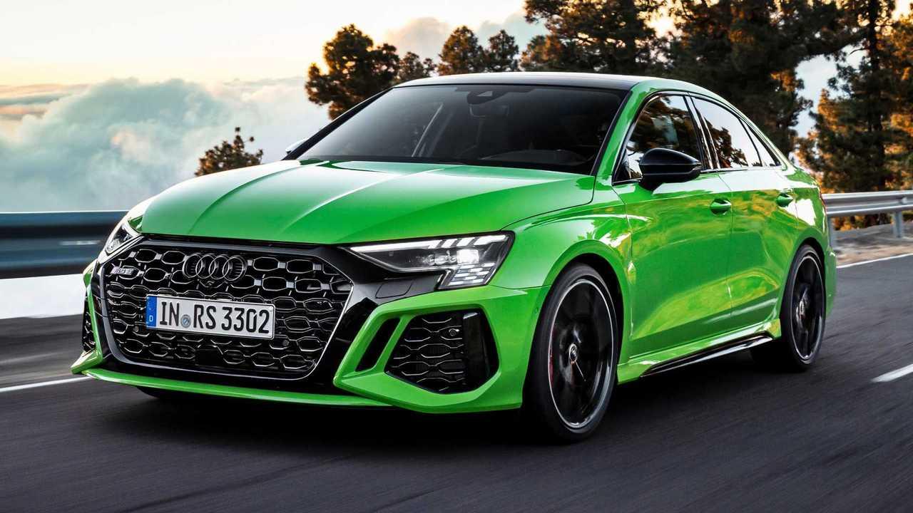 2022 Audi RS3 Sedan Front Quarter