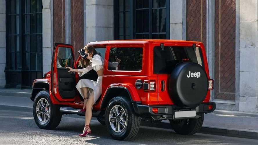 Полукабриолет Jeep Wrangler появился в Яндекс.Драйве