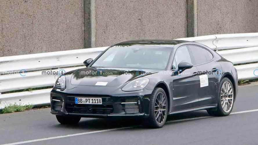Porsche Panamera Turbo GT / Facelift Spy Photos
