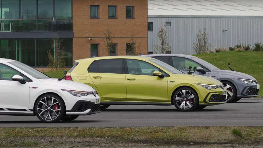 VW Golf Clubsport Proves Its Worth Versus GTI, GTD In A Drag Race