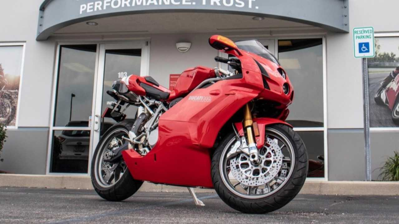 This Mint Ducati 999S Is Looking For A New Home