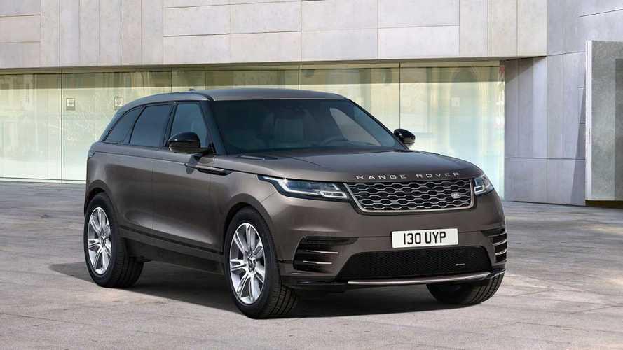 «Золотой» Range Rover Velar оценили в рублях