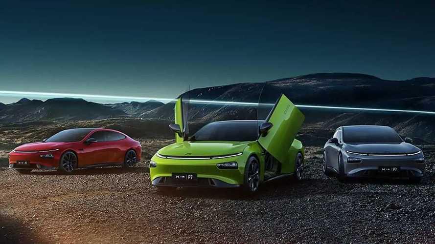 Xpeng P7: China-Marke zeigt große Elektro-Limousine auf der IAA