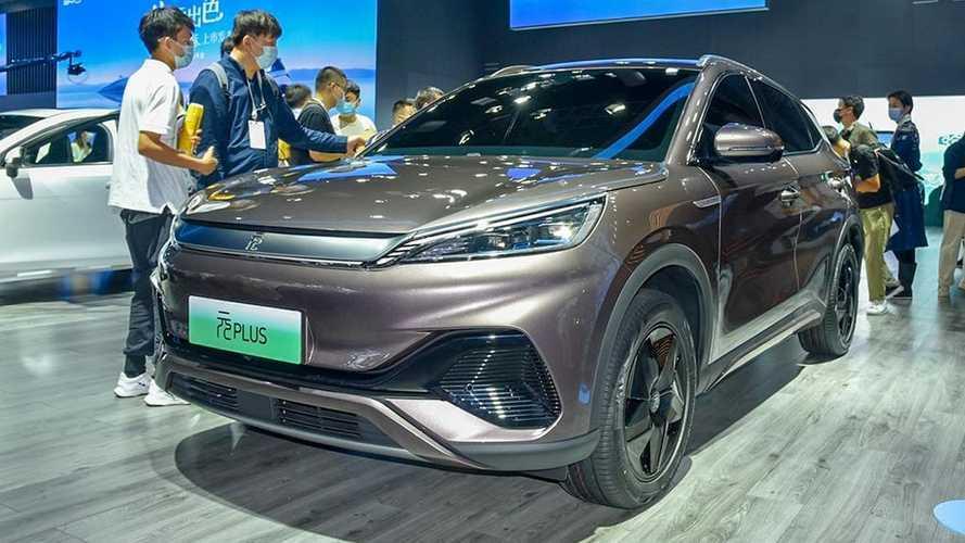SUV elétrico 'puro' da BYD é apresentado ao público; veja fotos