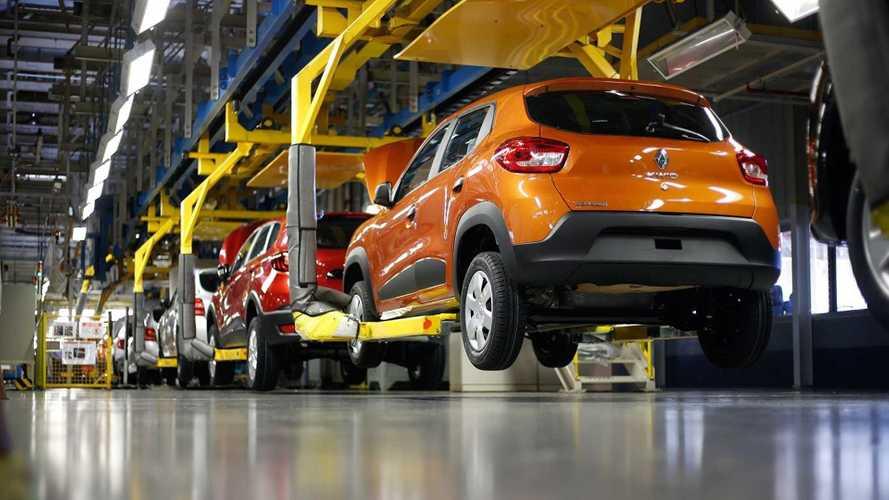Renault suspende produção no Brasil por falta de semicondutores