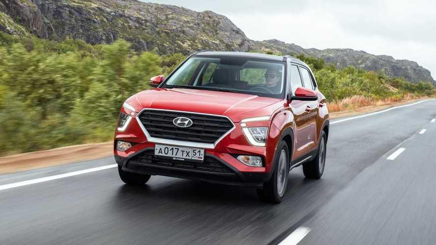 Новая Hyundai Creta в российском Заполярье