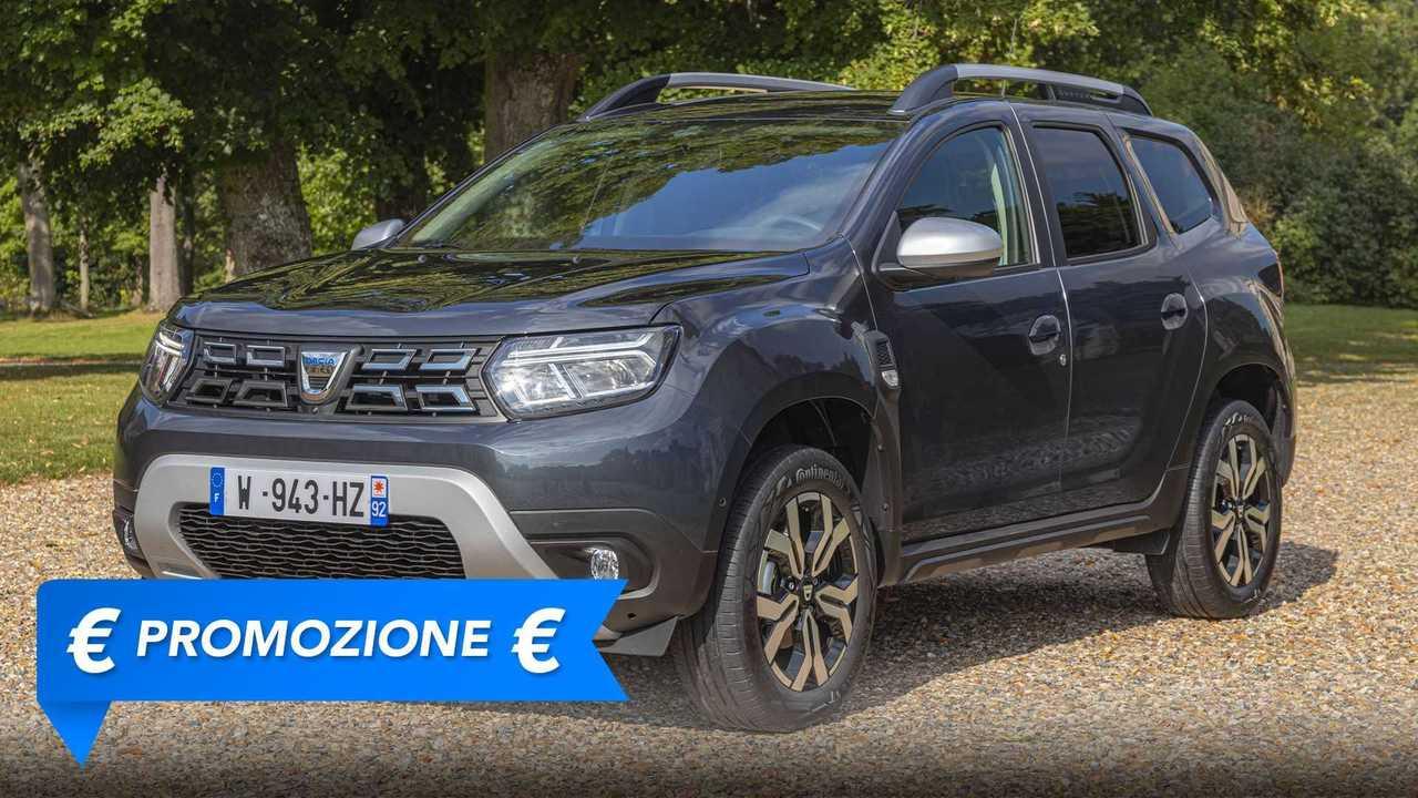 Promozione Dacia Duster GPL