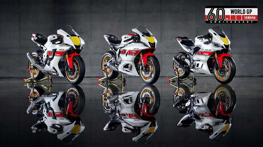 Yamaha Introduces 2022 R1, R7, And R3 In 60th Anniversary Livery