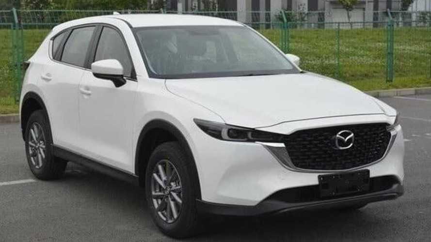 Патентные изображения обновленной Mazda CX-5