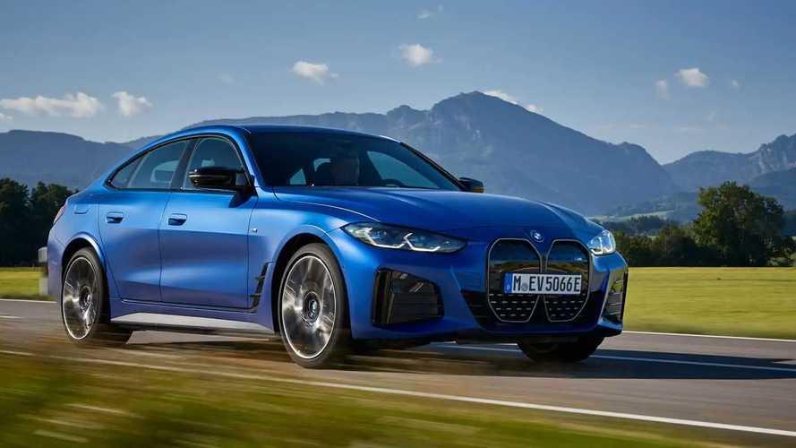 BMW i4 M50: Viertüriges Elektro-Coupé mit 400 kW im Test