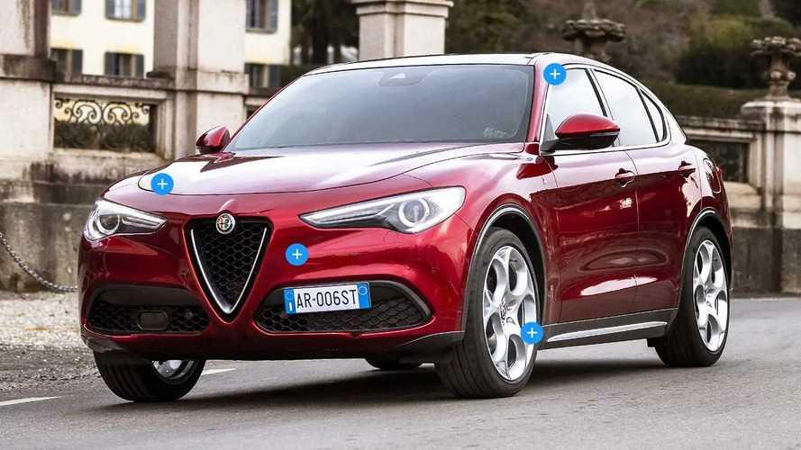 Alfa Romeo Stelvio 6C Villa d'Este, i dettagli del SUV esclusivo