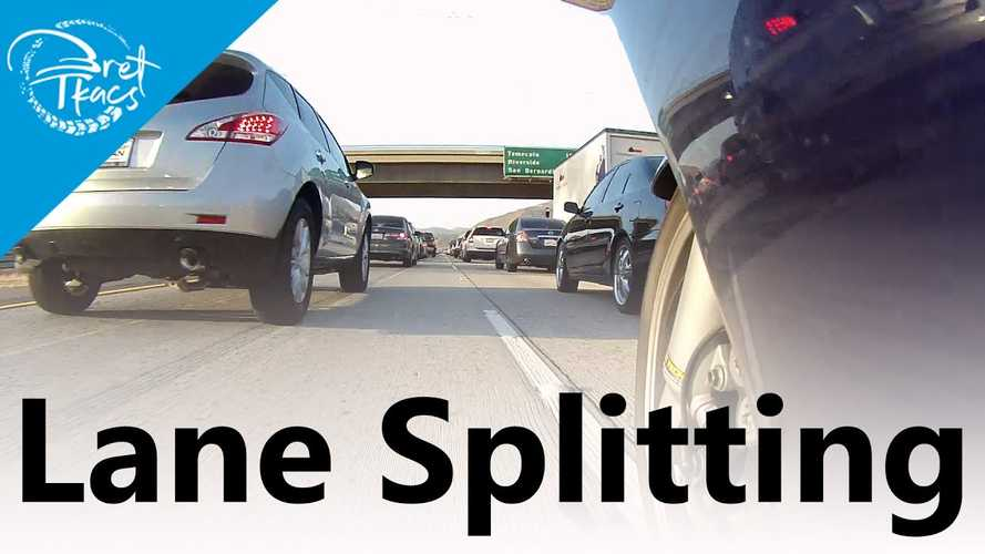 Watch This Moto Safety Instructor Explain Why Lane Splitting Is Good