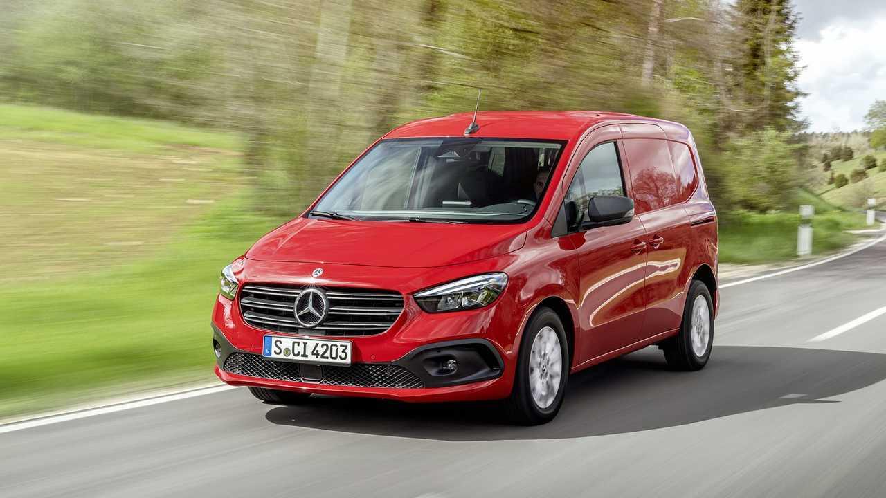 Mercedes-Benz официально представил новый Citan