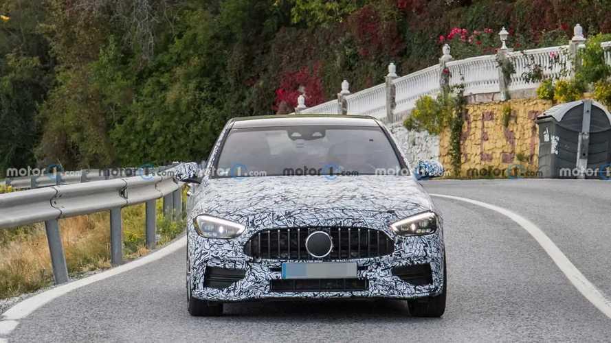 2022 Mercedes-AMG C45 new spy photos