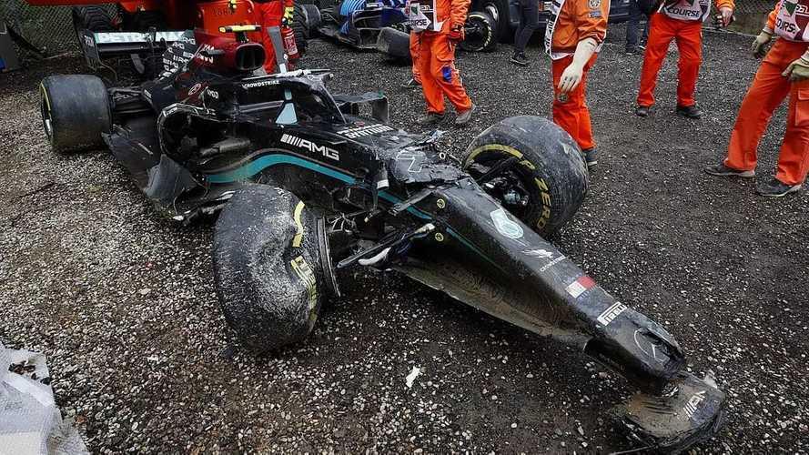 Cuánto han costado los 16 grandes accidentes en la F1 2021