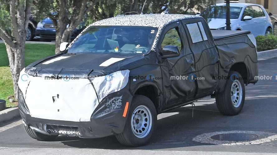 Next-Gen Chevrolet Colorado Spy Photos