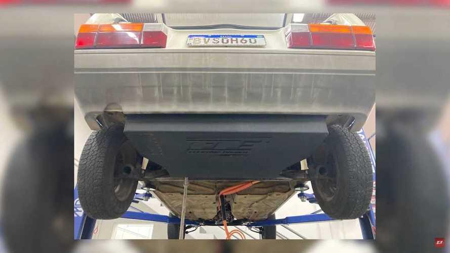 Volkswagen Gol GTE eléctrico de 1994