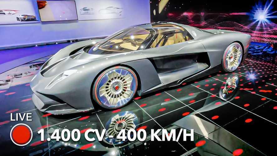 Catat! Hypercar Hybrid Cina Ini Mampu Melesat 400 Km/jam 1.400 HP