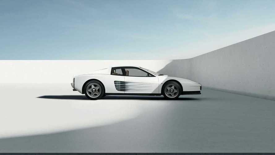 Restomod del Ferrari Testarrosa