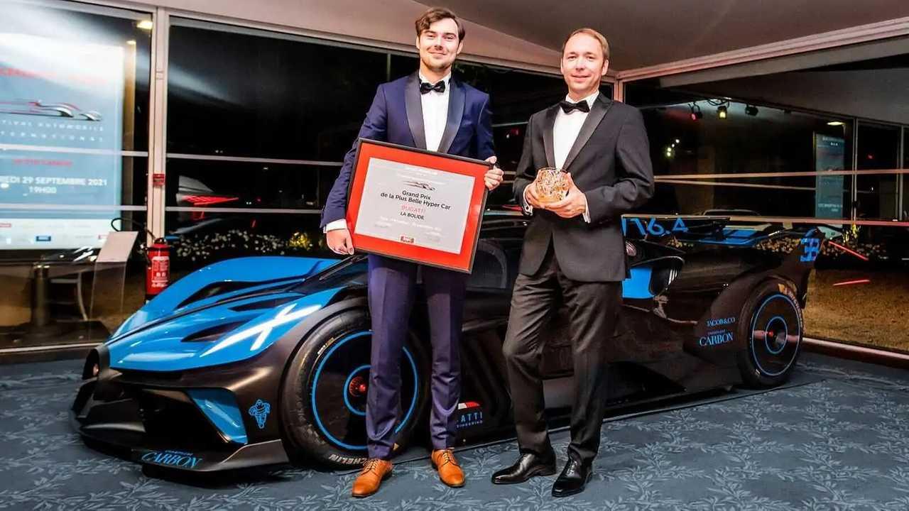 Bugatti Bolide design award
