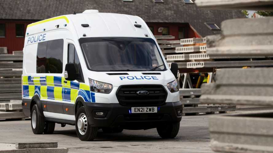 UK police forces get new high-payload Ford Transit riot vans