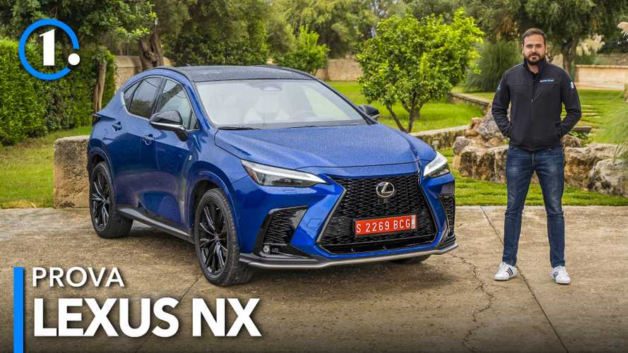 Lexus NX (2021), prova del SUV ibrido che ora è anche plug-in