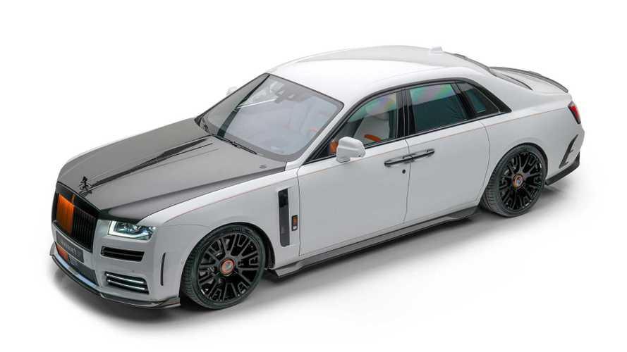 Dieser Rolls-Royce Ghost von Mansory kommt auf 720 PS