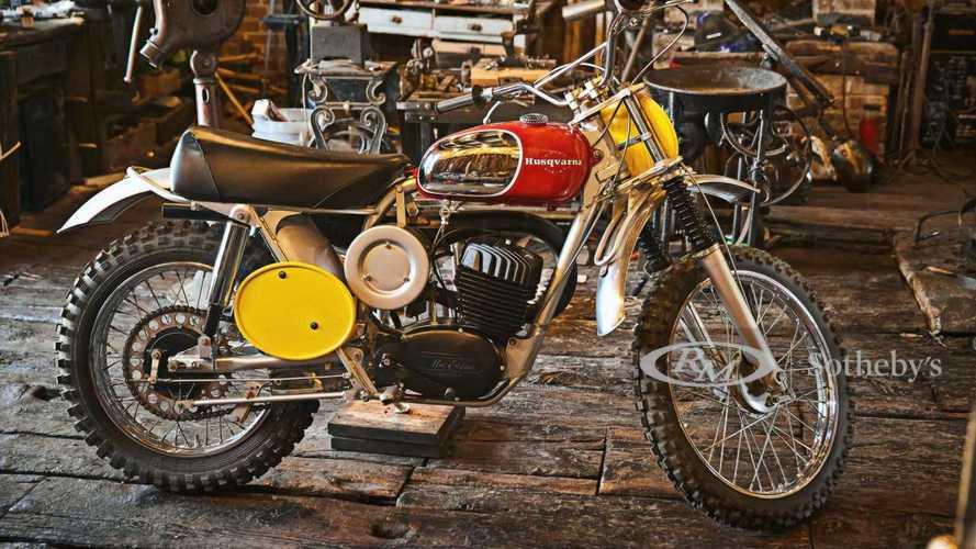 Steve McQueen's 1968 Husqvarna Viking 360 Needs A New Handler