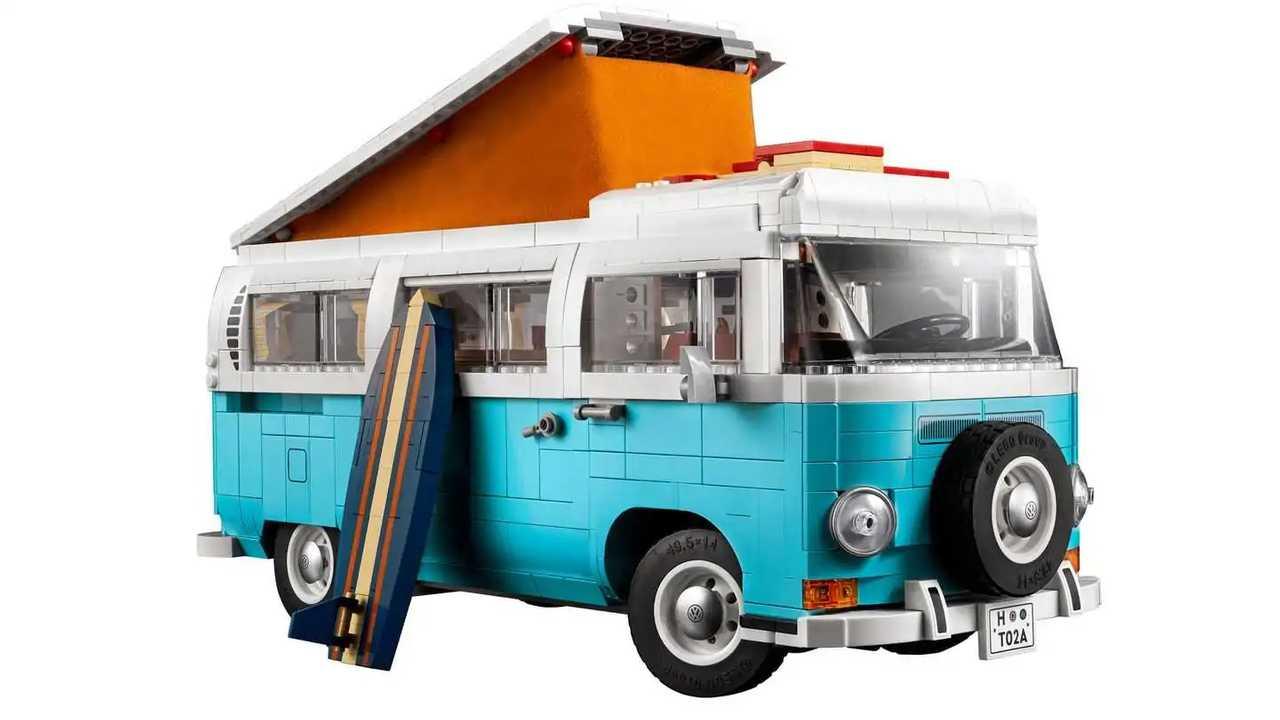 Volkswagen T2 de Lego Creator Expert