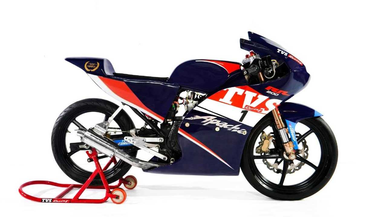 Take A Look At The Race Bike For The TVS One Make Championship